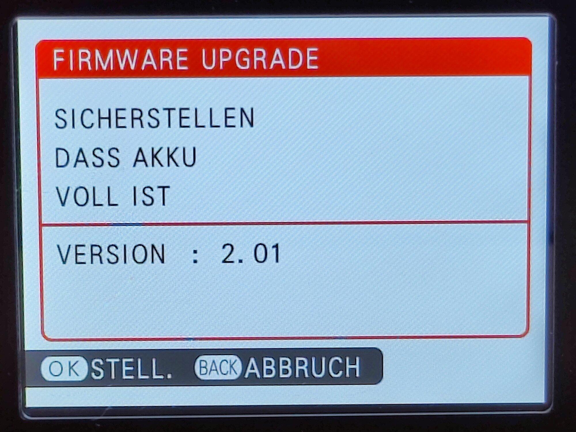 X100 - 16 - Firmware Aktuell.jpg