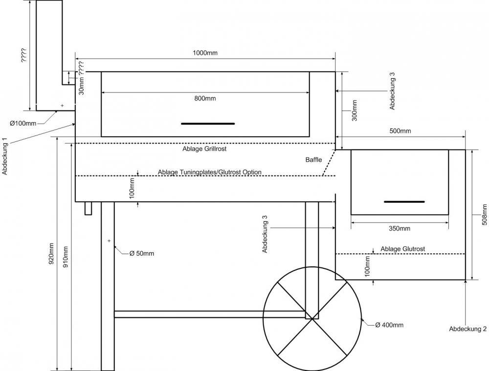 smoker planung grillforum und bbq. Black Bedroom Furniture Sets. Home Design Ideas