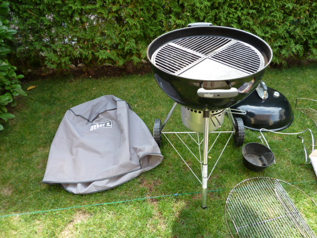 Weber Holzkohlegrill One Touch : Weber holzkohlegrill master touch gbs special edition pro cm black