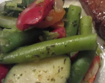 rezept bohnen paprika salat. Black Bedroom Furniture Sets. Home Design Ideas