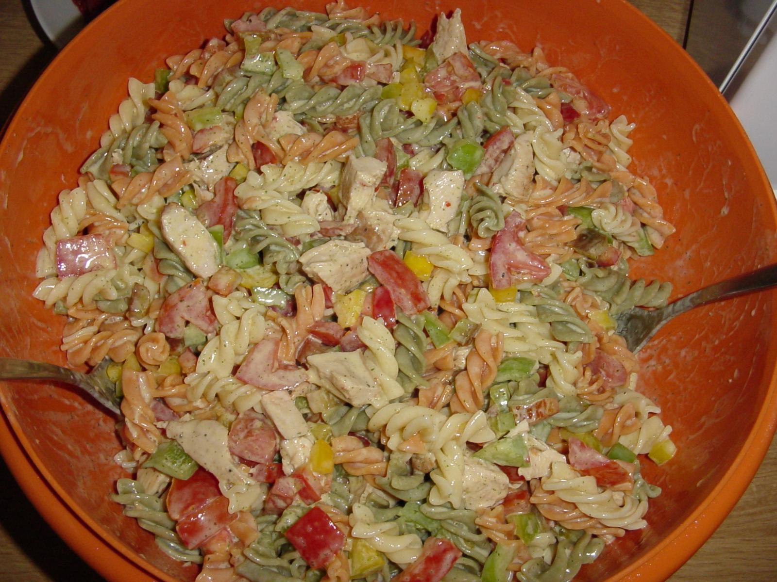 schneller sommerlicher nudelsalat — rezepte suchen