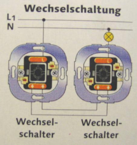 Niedlich Verdrahtung Für Zwei Schalter Und Ein Licht Ideen - Der ...