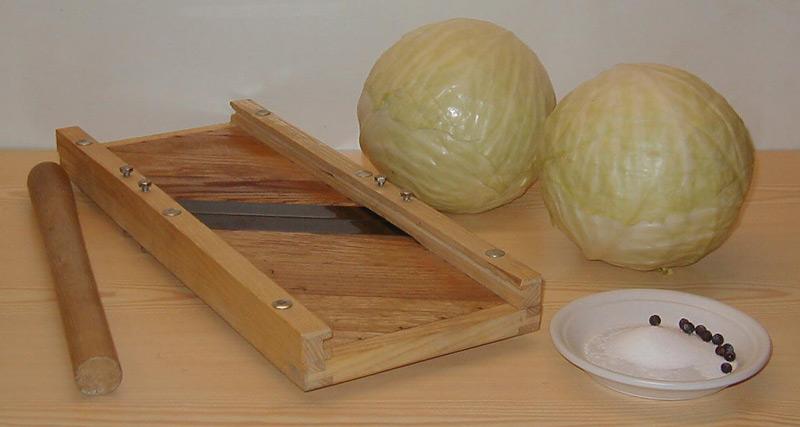 sauerkraut selber machen grillforum und bbq www. Black Bedroom Furniture Sets. Home Design Ideas