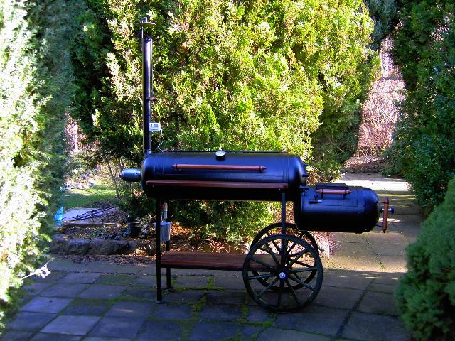 smoker aus gasflaschen grillforum und bbq www. Black Bedroom Furniture Sets. Home Design Ideas