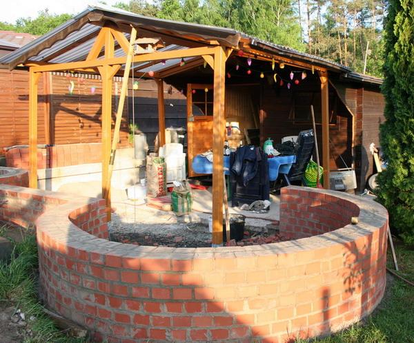 ideen zu einem rauchabzug und evtl. grillbau gesucht   grillforum, Garten seite