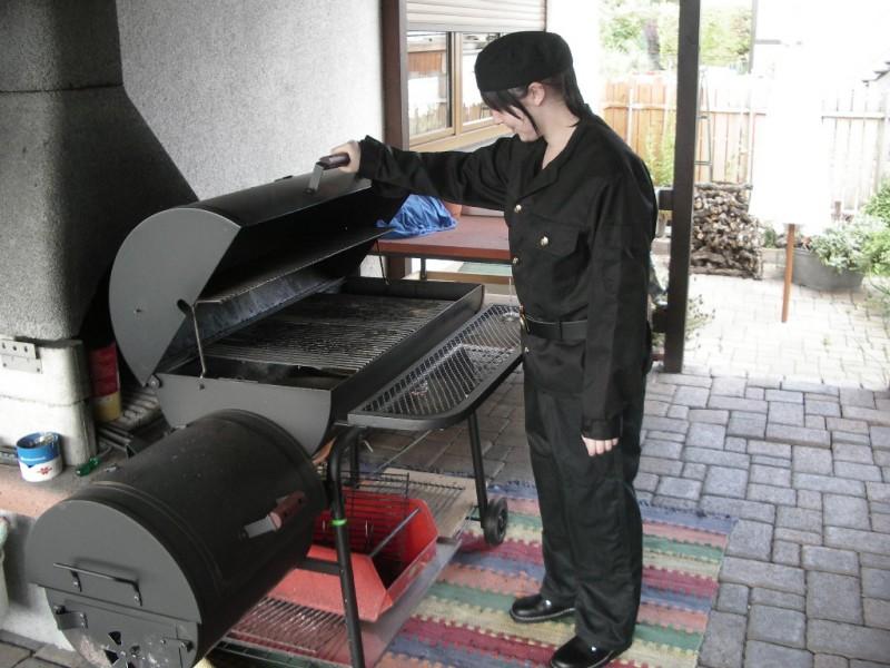 smokerabnahme durch schornsteinfeger grillforum und. Black Bedroom Furniture Sets. Home Design Ideas
