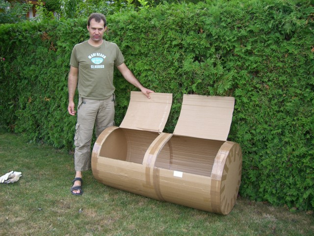 und wieder ein smoker im eigenbau grillforum und bbq. Black Bedroom Furniture Sets. Home Design Ideas