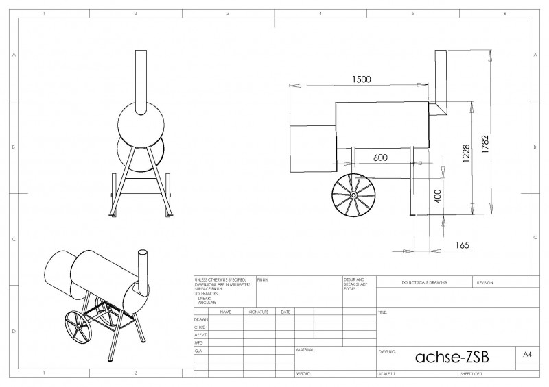 smokerbau zu hause die kleine variante grillforum. Black Bedroom Furniture Sets. Home Design Ideas
