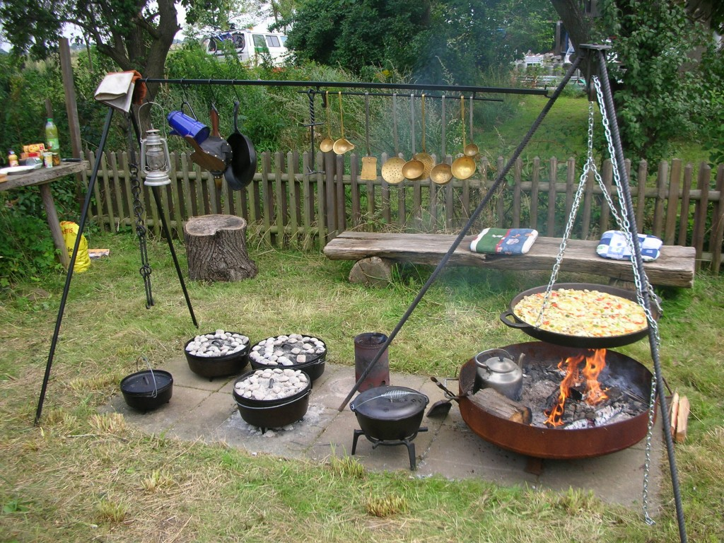 How To Build A Cooking Fire Pit