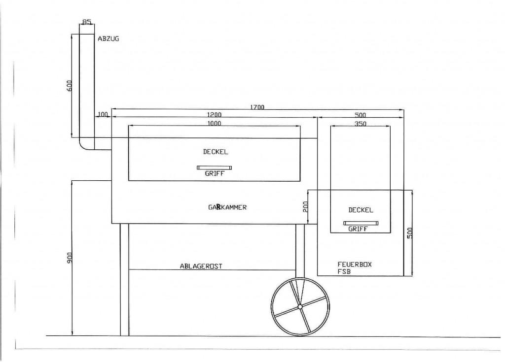 andere grillen wir bauen einen smoker grillforum und bbq. Black Bedroom Furniture Sets. Home Design Ideas