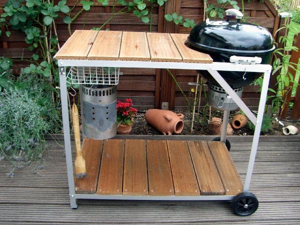 pimp my weber otg 47 endlich platz zum arbeiten grillforum und bbq. Black Bedroom Furniture Sets. Home Design Ideas