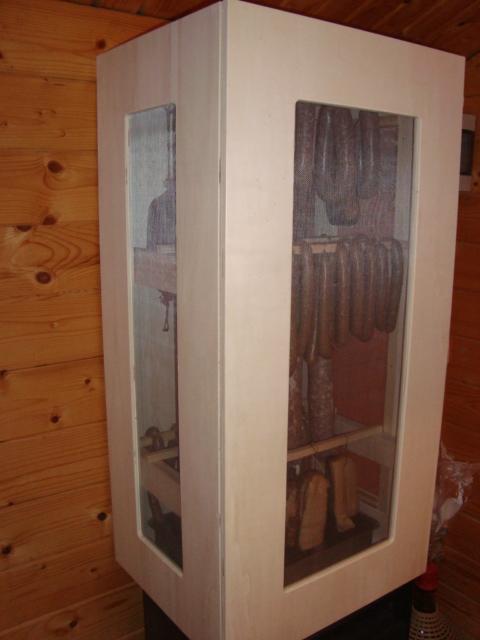 wurstschrank reifeschrank selbst gebaut grillforum und bbq. Black Bedroom Furniture Sets. Home Design Ideas