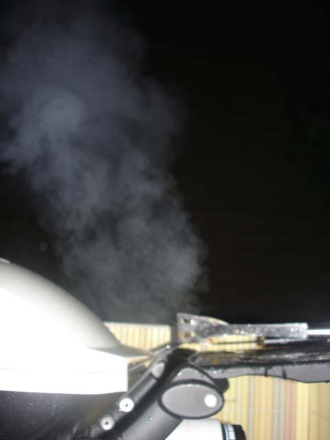 Wie stark qualmtraucht ein GasGrill, Smoker,Räucherofen