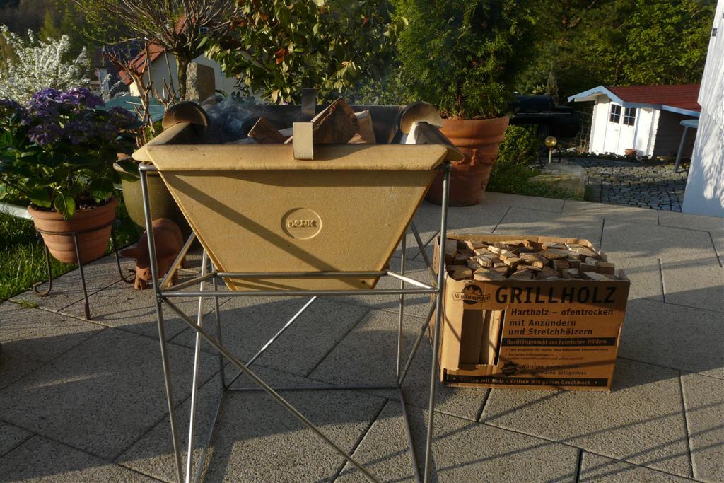 Grillfeuer von Denk Keramik Einweihung | Grillforum und BBQ - www ...