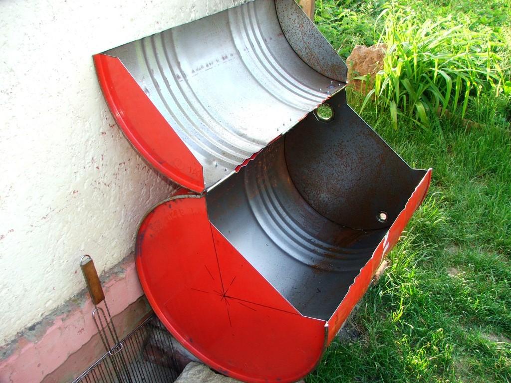 mein erster tonnen fass grill f r 20 c a euro hungary grillforum und bbq www. Black Bedroom Furniture Sets. Home Design Ideas
