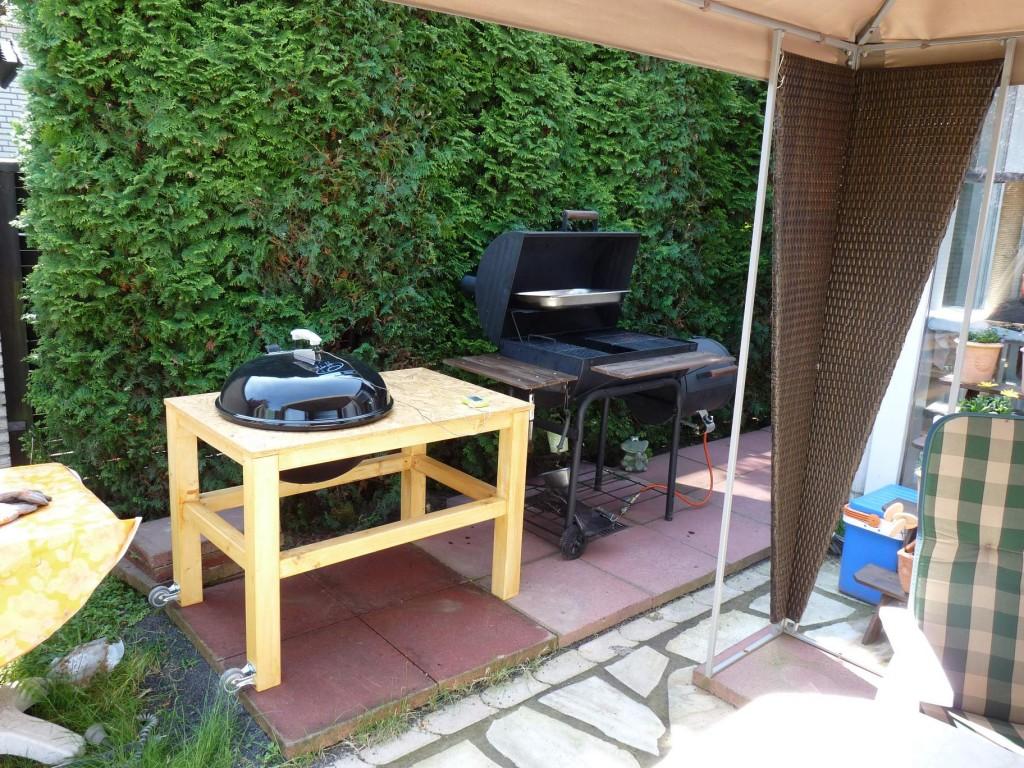 selbstbau kugelgrill auf basis weber 57 otg grillforum und bbq. Black Bedroom Furniture Sets. Home Design Ideas
