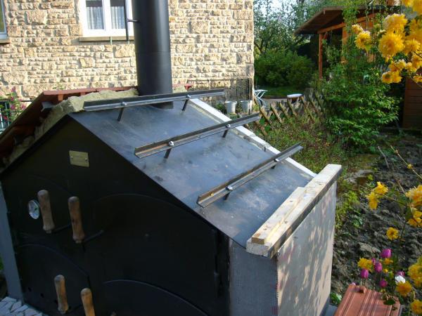 sommerporjekt 2009 mein ramster ist fertig grillforum. Black Bedroom Furniture Sets. Home Design Ideas