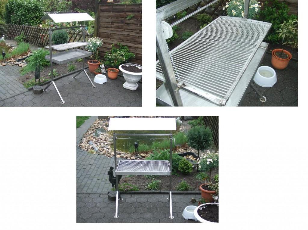 der neue mit nem edelen eigenbau edelstahlgrill grillforum und bbq. Black Bedroom Furniture Sets. Home Design Ideas