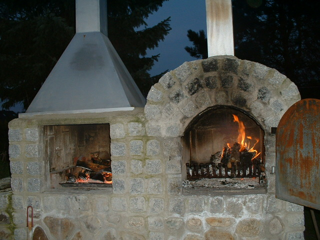 pizzaofen grill kombination – godsriddle, Gartenschlauch