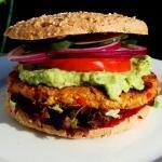 Veganer-Burger