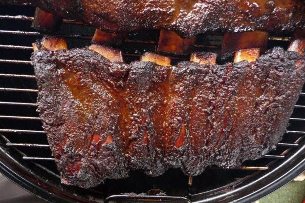 Rinder Spareribs Gasgrill : Rinder ribs stunden gesmoked grillsportverein
